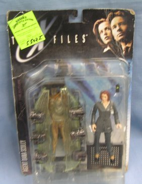 Vintage X Files Agent Dana Skulley Action Figure