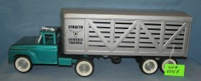 Structo Live Stock Delivery Truck And Trailer