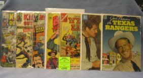 Group Of 7 Early Western Comic Books