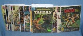 Collection Of Early Tarzan Comic Books