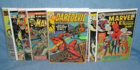 Marvel Superhero And Related Comic Books