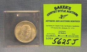 All Silver Booker T. Washington Commemorative Coin