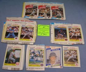 Collection Of Drakes All Star Baseball Cards