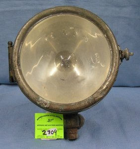 Early Fire Department Search Light
