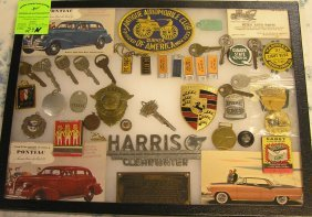 Large Collection Of Early Automotive Collectibles