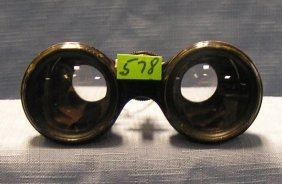 Pair Of Wwii French Binoculars