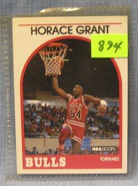 Vintage Horace Grant Basketball Card