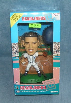 Derek Jeter Bobble Head Doll