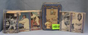 Jackie Robison All Metal Collector Card Set