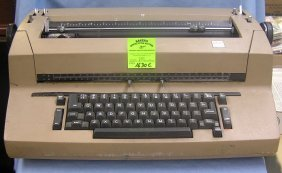 Vintage Ibm Electric 2 Typewriter