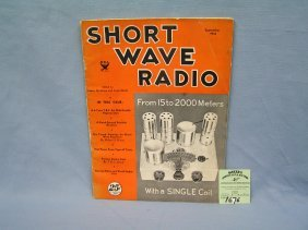 Vintage Short Wave Radio Magazine