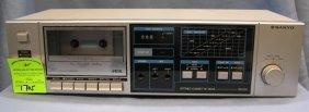 Sanyo Stereo Cassette Deck And Recorder