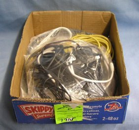 Box Of Misc. Electronics Including Cables