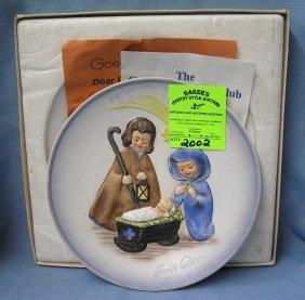 Vintage Hummel Collectors Plate