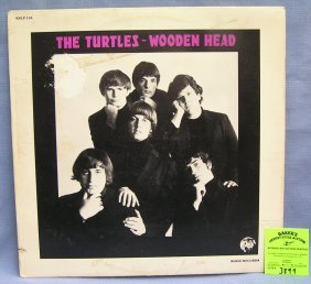 The Turtles Wooden Head Vintage Record Album
