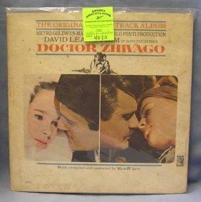 Vintage Doctor Zhivago Record Album