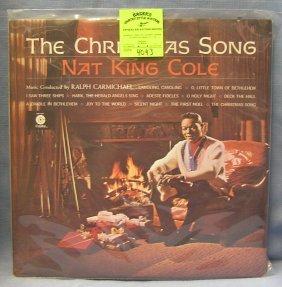 Vintage Nat King Cole Record Album