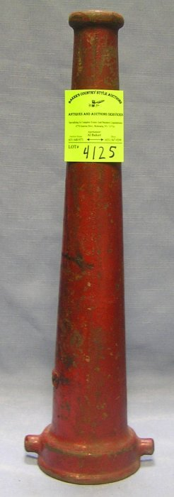 Antique Cast Iron Fire Nozzle