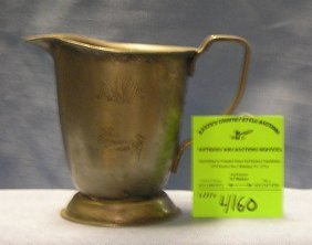 Antique American Airlines Embossed Creamer