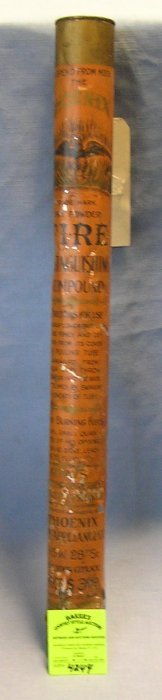 Phoenix Antique Fire Extinguishing Compound Canister