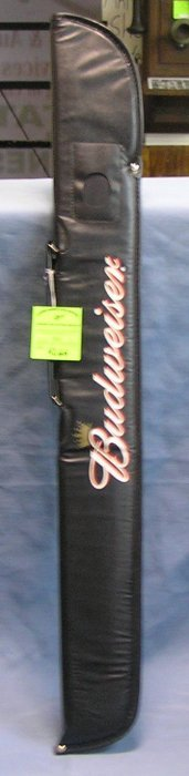 Budweiser Promotional Advertising Pool Stick Carrier