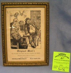 Original Maxl's Pub Character Print And Calendar
