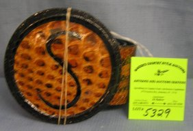 High Quality Snake Skin Belt And Buckle