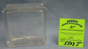 Early Glass Block Savings Bank