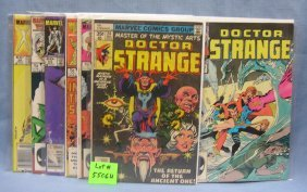 Group Of Vintage Marvel Comic Books