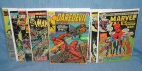 Marvel Superhero And Related Comic Books
