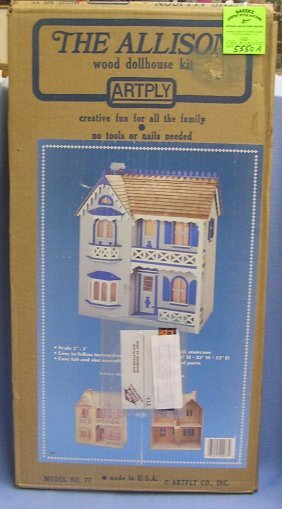 """the Allison"" Complete Dollhouse Kit"