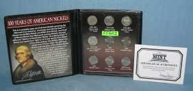 100 Years Of American Nickels Collection