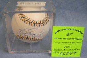 Autographed Ken Griffey Jr. Baseball