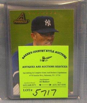 Pair Of Vintage Mariano Rivera Baseball Cards