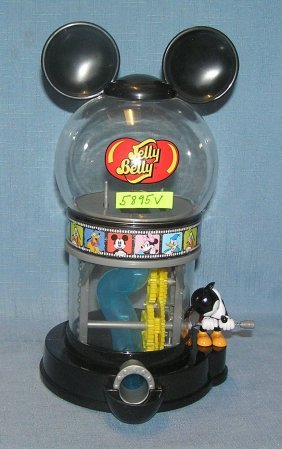 Mickey Mouse Jelly Belly Bean Or Gumball Dispenser