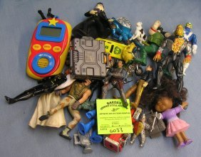 Group Of Vintage Toys And Action Figures