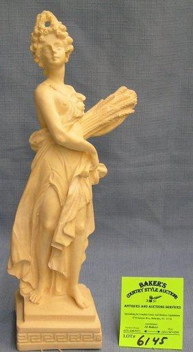 Vintage Greek Statue