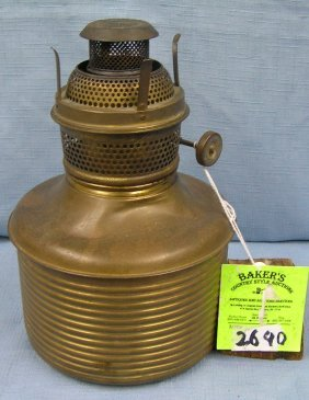 Antique Aladdin Hurricane Lamp