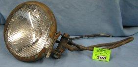 Early Automobile Head Light