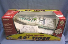 Radio Controlled 42' Tiger Scale Racing Boat