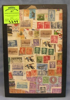 Collection Of Early Postage Stamps