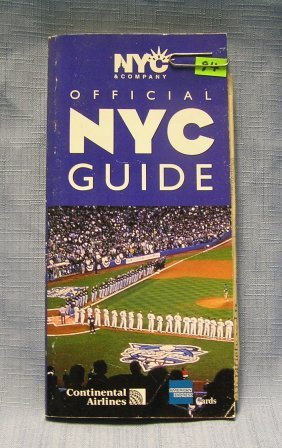 Vintage Guide To New York City
