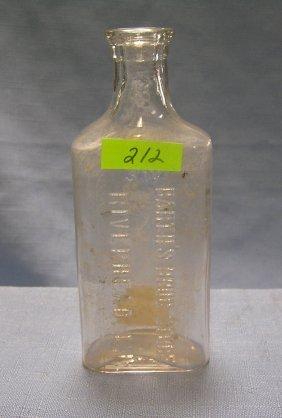 Medicine Bottle From Barth's Drug Store