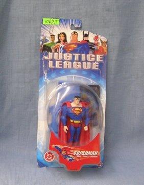 Justice League Superman Mint On Card