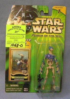 Vintage Star Wars Action Figure: Battle Droid