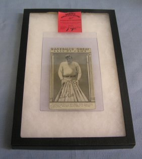 Babe Ruth Exhibit Penny Arcade Photo Card