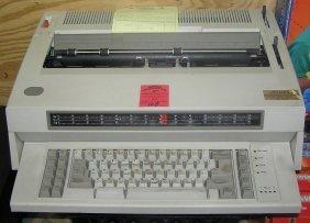 Ibm Wheel Writer 6 Series 2 Electric Typewriter