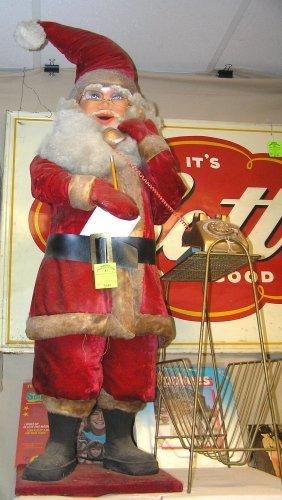 Large Animated Macy's Santa Claus