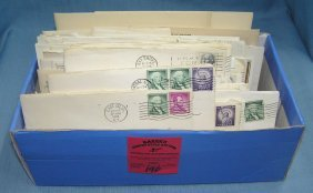 Box Full Of Vintage Ephemera