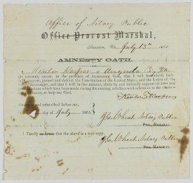 """stonewall Brigade"" Colonel Kenton Harper's Amnesty"